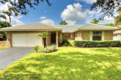 Coral Springs Single Family Home Backup Contract-Call LA: 634 NW 112th Way