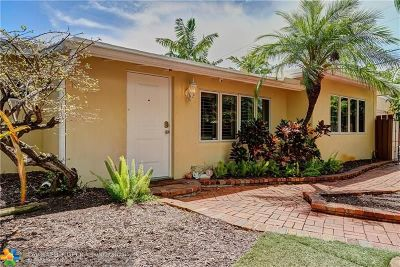 Fort Lauderdale Single Family Home For Sale: 1810 NE 16th Te