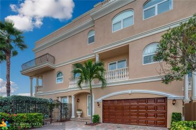 Pompano Beach Condo/Townhouse For Sale: 1772 Bay Dr #1772