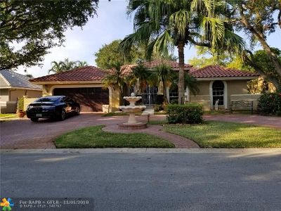 Coral Springs Single Family Home For Sale: 231 NW 118th Ave