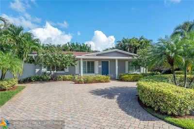 Coral Ridge Isles Single Family Home For Sale: 1511 NE 59 Ct