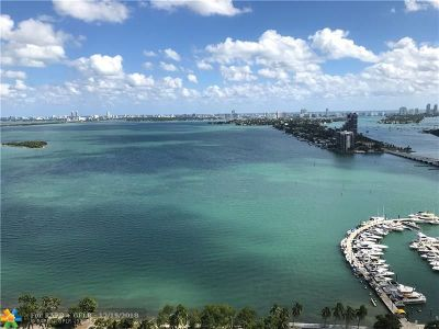 Miami Condo/Townhouse For Sale: 1750 N Bayshore Drive #3202