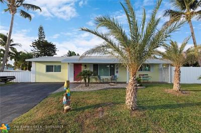 Pompano Beach Single Family Home For Sale: 251 SE 6th Ct