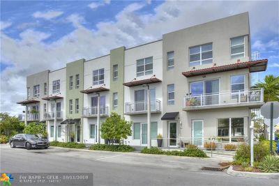 Oakland Park Condo/Townhouse For Sale: 131 NE 43rd St #4