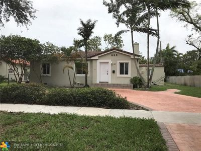 Miami Shores Single Family Home For Sale: 142 NW 111th St