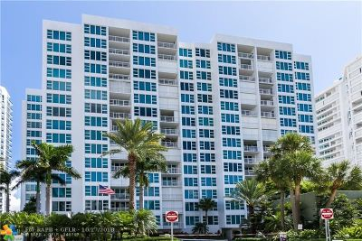 Pompano Beach Condo/Townhouse For Sale: 1620 S Ocean Blvd #12G