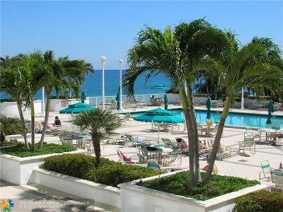 Lauderdale By The Sea Condo/Townhouse For Sale: 1620 S Ocean Blvd #10E