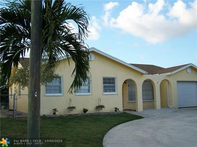 Boca Raton Single Family Home For Sale: 22295 SW 57th Ave