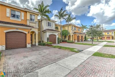 Miramar Condo/Townhouse For Sale: 9064 SW 17th Ct #9064