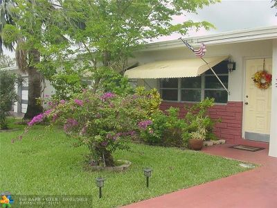 Margate Single Family Home For Sale: 1465 NW 69 Ave