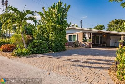 Wilton Manors Single Family Home For Sale: 1901 NE 26th Dr
