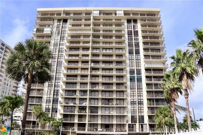 Condo/Townhouse For Sale: 3031 N Ocean Blvd #205