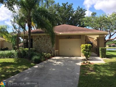 Coconut Creek Single Family Home For Sale: 2521 Calamondin Cir