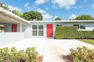 Wilton Manors Single Family Home For Sale: 801 NW 29th Court