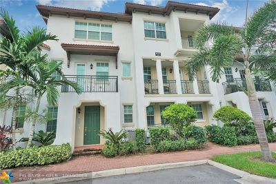 Miramar Condo/Townhouse For Sale: 11971 SW 28th Ct #11971