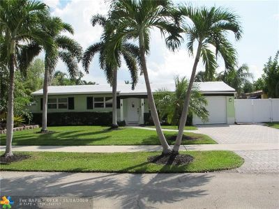 Fort Lauderdale Single Family Home For Sale: 1930 NE 60th St