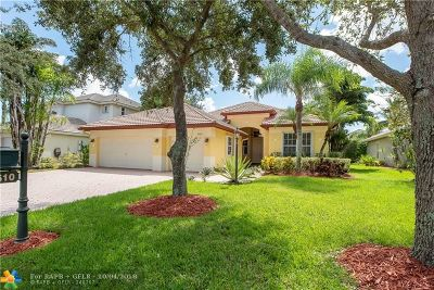 Parkland Single Family Home For Sale: 10610 NW 62nd Ct