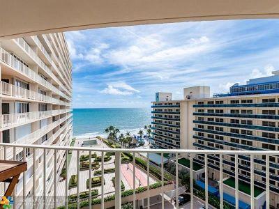 Fort Lauderdale Condo/Townhouse For Sale: 4100 Galt Ocean Dr #802