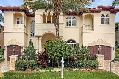 Lighthouse Point Single Family Home For Sale: 3233 NE 31st Av