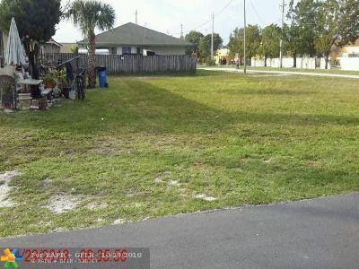 Oakland Park Residential Lots & Land For Sale: 150 NE 35th St