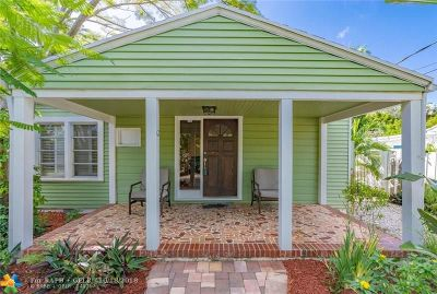 Fort Lauderdale Single Family Home For Sale: 804 SE 12th St