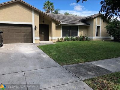 Coconut Creek Single Family Home For Sale: 5108 NW 47th Ave