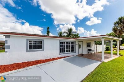 Lauderhill Single Family Home Backup Contract-Call LA: 3861 NW 7th Ct