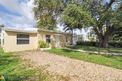 North Miami Beach Single Family Home For Sale: 1849 NE 182nd St
