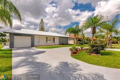 Tamarac Single Family Home For Sale: 7005 NW 95th Ter