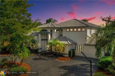 Coral Springs Single Family Home For Sale: 12688 Classic Dr