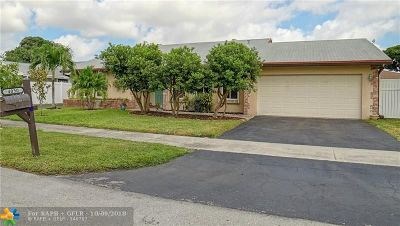 Oakland Park Single Family Home For Sale: 4050 NW 19th Ter