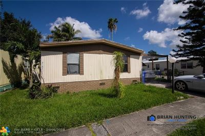 Pembroke Pines Single Family Home For Sale: 21841 NW 7th Ct