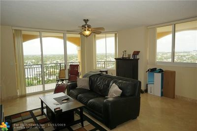 Fort Lauderdale Condo/Townhouse For Sale: 2011 N Ocean Blvd #1304n