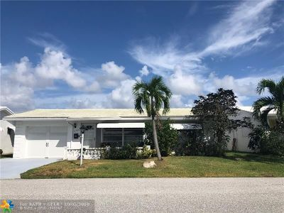 Pompano Beach Single Family Home For Sale: 2960 NW 1 Dr.