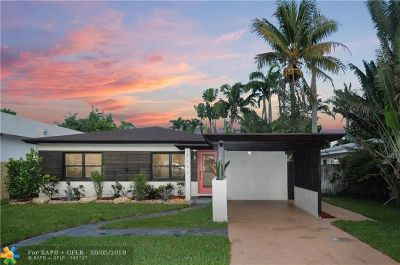 Fort Lauderdale Single Family Home For Sale: 1117 NE 11th Ave