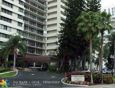 Fort Lauderdale Condo/Townhouse For Sale: 4280 Galt Ocean Dr #15J