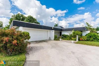 Tamarac Single Family Home Backup Contract-Call LA: 5117 Yellow Pine Ln