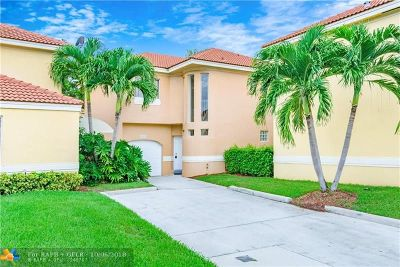 Coral Springs Single Family Home For Sale: 11199 Lakeview Dr