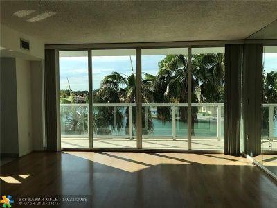 Miami Beach Condo/Townhouse For Sale: 5900 Collins Ave #505