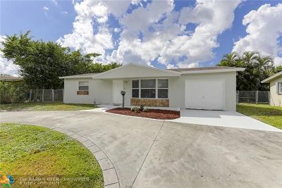 Lauderhill Single Family Home For Sale: 1131 NW 55th Ave