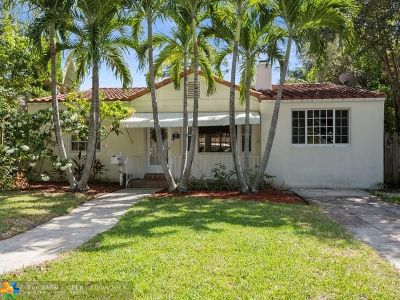 Fort Lauderdale Single Family Home For Sale: 712 Ponce De Leon Dr