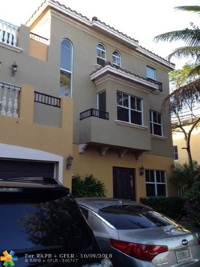 Fort Lauderdale Condo/Townhouse For Sale: 623 NE 11th Avenue #623