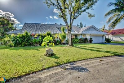 Coral Springs Single Family Home For Sale: 1320 NW 97th Ter