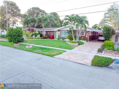Coconut Creek Single Family Home For Sale: 4281 NW 10th St