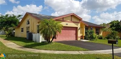 Sunrise Single Family Home For Sale: 8475 NW 34th Mnr