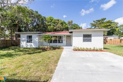 Fort Lauderdale Single Family Home For Sale: 801 NE 15th St