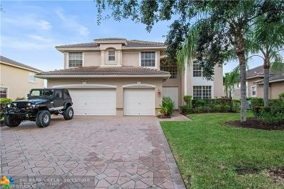 Coral Springs Single Family Home For Sale: 5801 NW 54th Cir