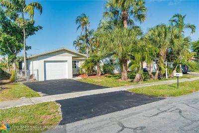 Boynton Beach Single Family Home For Sale: 633 W Ocean Ave
