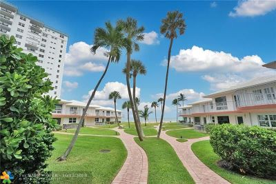 Lauderdale By The Sea Condo/Townhouse For Sale: 1530 S Ocean Blvd #3