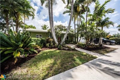 Fort Lauderdale Single Family Home For Sale: 5860 NE 14th Way